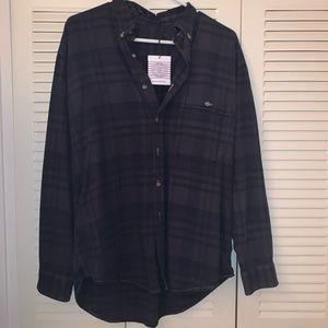 Urban Renewal Vintage Button-Down Flannel Shirt